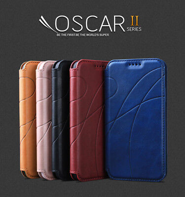REEXIR® Leather Wallet Folio Flip stand Case Cover For Samsung Galaxy S9/S9 Plus