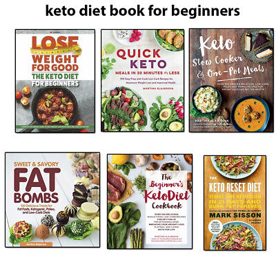 Keto diet beginner slow cooker reciepe cookbook low carb weight loss book UK NEW