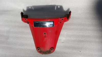 Vespa LX125 2012 Red Licence Plate Mount