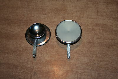 Lot Of 2 Used Littman Stethoscope Chest Pieces See Pix!!