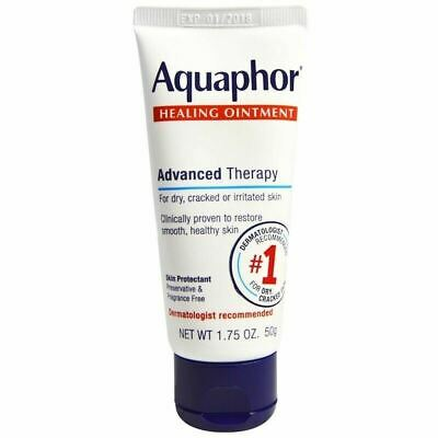 NEW AQUAPHOR HEALING OINTMENT for DRY CRACKED IRRITATED SKIN FRAGRANCE FREE 50g