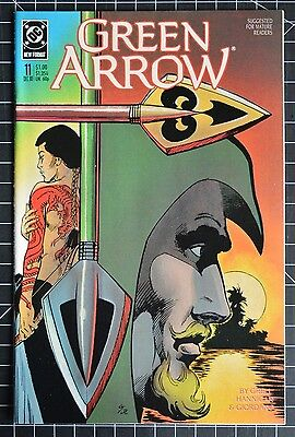 Green Arrow #11 NM- (Dec 1988, DC)