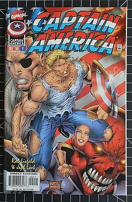 Captain America #2 NM (Dec 1996, Marvel) Liefeld, Loeb