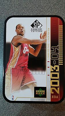 2003 Lebron James Sp Signature Edition Tin Rookie Year