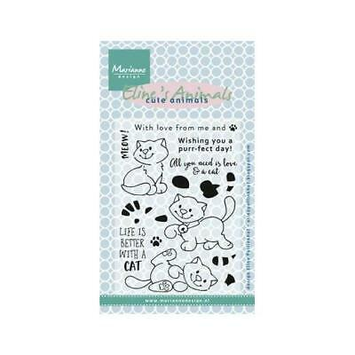 HETTIES FLAGS SLINGERS BUNTING HT1604 Marianne Design Clear Stamps