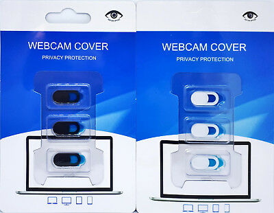 3x Webcam Cover Shutter Kamera Abdeckung Sichtschutz PC Laptop Tablet Smartphone