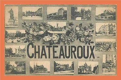 36 - CHATEAUROUX - Multivues // CPA