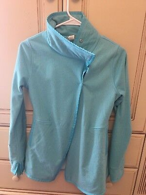 Ivivva By Lululemon Girls Size 14 Blue Jacket with Buttons