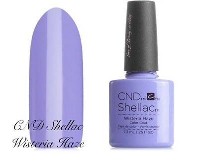 Creative Nail Design Shellac Uv Color Coat Wisteria Haze 90796