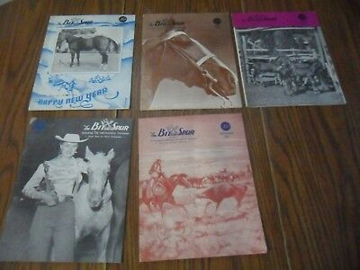 LOT OF (5) BIT And SPUR 1951 HORSE MAGAZINES