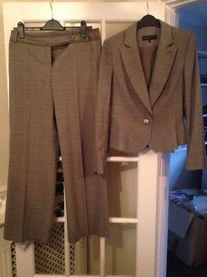 NEXT women's grey suit - Jacket ( Size 12) and Trousers (size 12R)