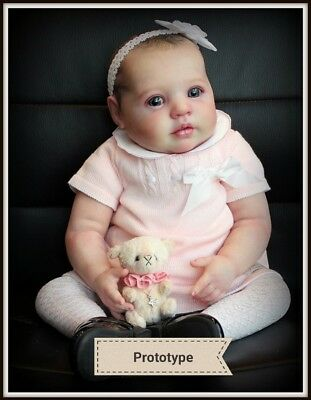 Lillian reborn kit (big baby) doll parts only