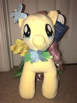 """Build A Bear My Little Pony Fluttershy 15"""" Plush with Cape."""
