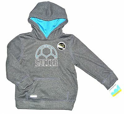 Jumping Beans Play Cool Soccer Hoodie/sweatshirt, Size 24 Mos, Gray, Nwt