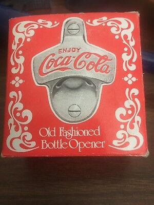 Replica Of Old Fashioned Bottle Opener Coca Cola