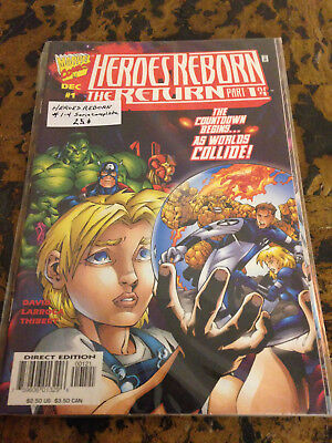 Heroes Reborn The Return # 1-4 (of 4) Full Run Fantastic Four Mini-Series Marvel