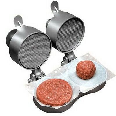 Weston Double Hamburger Express Patty Maker Press includes a box of Patty Paper