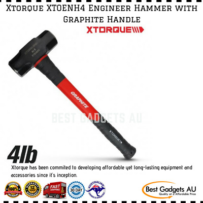 Xtorque XTOENH4 Engineer Hammer Graphite Handle Double Impact Anti Vibration