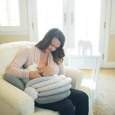 Multifunction Breastfeeding Pillow Infant Feeding Support Pillow Adjustable