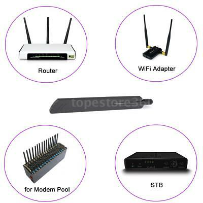 18dBi WiFi 2.4Ghz Antenna Signal Booster RP- SMA Male for Router Set-top Boxes