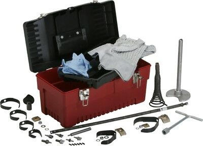 """Spartan Tool 0.55"""" Magnum Tool Box & Cutter Kit for 300 Drain Cleaners 44129400"""