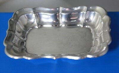 "Reed & Barton Sterling Silver 925 Windsor Jewelry Tray Vintage 3"" X 2 1/4"""