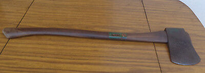 Vintage Hytest Craftsman 4-1/2 Lb Swing Axe.  Solid Wooden Handle.  Collectible