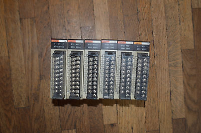 6 used and working OMRON 24VDC INPUT MODULE C200H-ID212