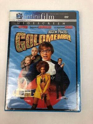 AUSTIN POWERS IN GOLDMEMBER new dvd MIKE MYERS BEYONCE KNOWLES MICHAEL CAINE