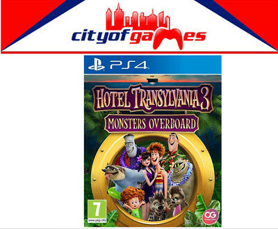 Hotel Transylvania 3 Monsters Overboard PS4 Game New In Stock