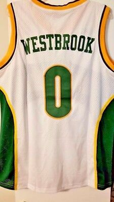 7dc74efae5a Rare Russell Westbrook Seattle Supersonics Sonics Jersey Size - Adult XL