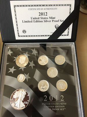 USA * 2012  United States Mint Limited Edition Silver Proof Set