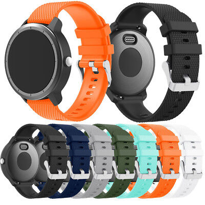 Faction Soft Silicone Replacement Sport Wrist Band Strap For Garmin Vivoactive 3