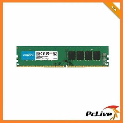Crucial 8GB DDR4 2400 Mhz Memory High Performance RAM for Desktop 1.2v PC4 19200