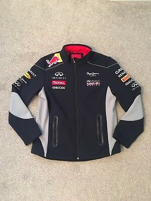 Large Pepe Jeans Red Bull Racing official Teamline F1 unisex Softshell jacket -