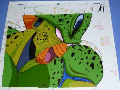 Cel picture Dragon ball Z CYBORG Cell first form w/ Animation Japan[85]