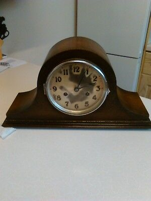 Napoleon Hat Clock - Single Chime with Key - Spares or Repair (696)
