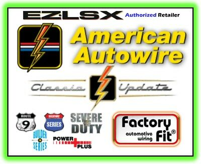 american autowire 500981 64 - 67 chevelle wiring harness free expedited  shippng