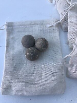 French Napoleonic Musket balls Genuine