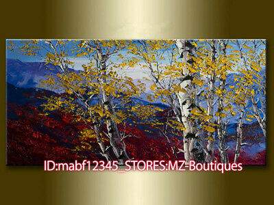 """40X20"""" Hand painted Landscape Oil Canvas Wall Art home Decor NO Frame YH1165"""
