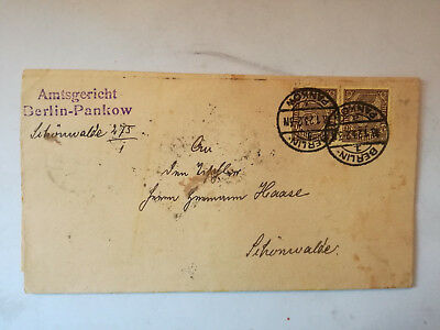 Brief 1923 Berlin Pankow