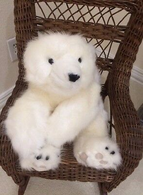 Ditz Designs White Diamond Bear Hugs 26""