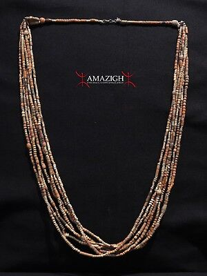 Terracotta Beaded Necklace - Mali