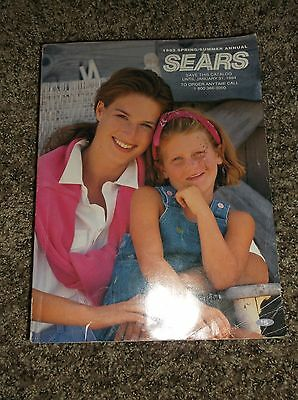 Vintage Sears Roebuck Spring & Summer 1983 Department Store Catalog
