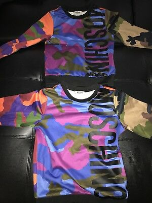 Moschino Camouflage Top Boys $140 Pre Loved