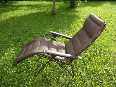 Lafuma Futura Air Comfort Relaxliege Sonnenliege Liege Taupe Filling