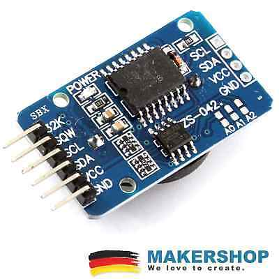 RTC DS3231 I2C Echtzeituhr AT24C32 Real Time Clock Modul Arduino Raspberry Pi