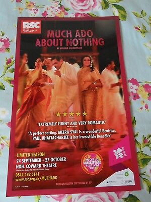 Much Ado About Nothing (Royal Shakespeare Company) Theatre Poster