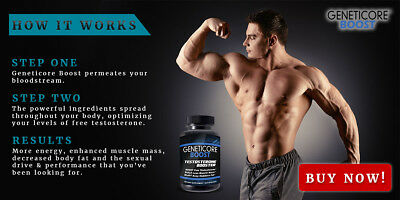Geneticore Boost (90Caps) Premium Male Performance - Free Shipping Worldwide