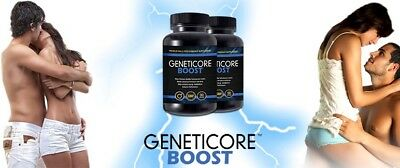 Geneticore Boost (2X 90Caps) Premium Male Performance - Free Shipping Worldwide